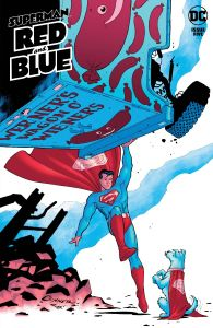 SUPERMAN RED & BLUE #5 COVER A CONNER