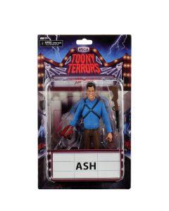Ash (Evil Dead 2)   Toony Terrors Figure   NECA