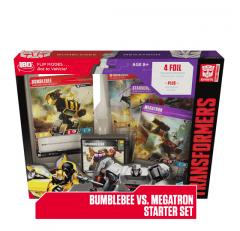 Bumblebee vs Megatron Starter Set   Transformers trading Card Game