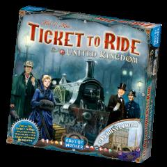 United Kingdom & Pennsylvania Expansion   Ticket To Ride