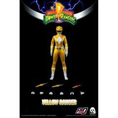 PRE-ORDER: Yellow Ranger | Mighty Morphin Power Rangers 1:6 Scale Figure | Three Zero