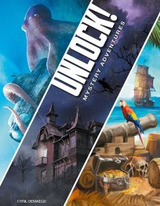 Unlock 2  Mystery Adventures - Space Cowboys Game