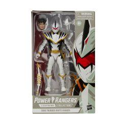 Dino Thunder White Ranger Action Figure - Power Rangers Lightning Collection