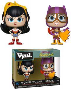 Wonder Woman & Batgirl DC Bombshells VYNL 2 Pack - Funko