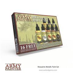 Metallic Paint Set   Army Pinter