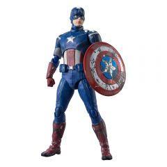 Captain America (Avengers Assemble Edition)   Avengers: Endgame   S.H. Figuarts Action Figure