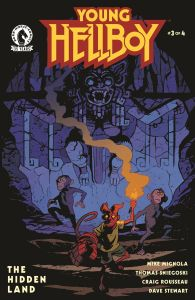 YOUNG HELLBOY THE HIDDEN LAND#3 (OF 4) CVR A SMITH