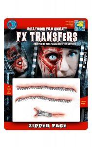 Zipper Face - FX Transfers - Tinsleytransfers - Angels