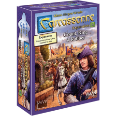 Count, King and Robber: Carcassonne Epansion 6